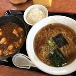 中国家庭料理 花りん - 麻婆付け麺(税抜920円)
