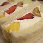 山口果物 - ミックスフルーツサンド