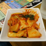 焼肉 ヨコムラ - キムチ盛り