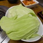 焼肉 ヨコムラ - キャベツ
