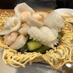 東珍味 - 海鮮あんかけ