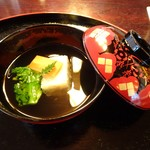 京懐石柿傳 - 煮物椀