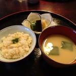 京懐石柿傳 - 食事