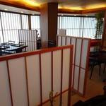 京懐石柿傳 - 店内