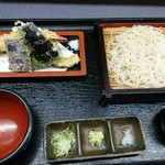 起進堂 - 2色もり天ぷら(更科)