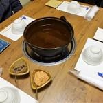 大いちょう - 料理写真:ちゃんこ鍋セッティング