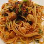 8003965 - ランチ:B Planza(自家製ファカッチャ、前菜の盛り合わせ、デザート、エスプレッソ)1,700円