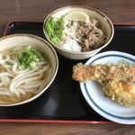 製麺七や - うどん_2018年1月