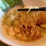 らー麺 鉄山靠 - 細麺