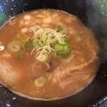 らー麺 鉄山靠 - 魚介とんこつ(醤油)
