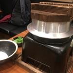 旨唐揚げと居酒メシ ミライザカ 西日暮里駅前店 - 鳥釜飯の風貌…