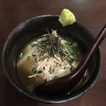 佳酒旬肴 のすけ - 自家製のお豆腐
