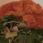 80033022 - プリプリ大正海老のチリソース煮