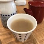横濱蕎麦 傳介 - とろりとした蕎麦湯