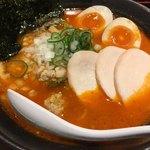濃厚鶏そば シロトリコ - 濃厚仙台辛味噌鶏そば/激辛/全のせ