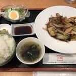 白龍 - 酢豚定食=850円