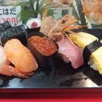 立喰 さくら寿司 - 3番ランチ