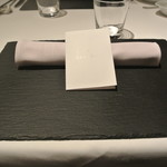 リストランテ カノフィーロ - 2018年1月27日のテーブルセット