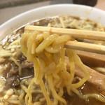 麺屋 久兵衛 - カレーラーメン、大盛、チーズトッピング