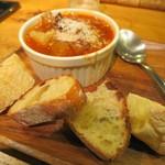 国産チーズ酒場 Ace - 牛スジと淡路大根のトマト煮込み