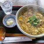 手打うどん布川 - 料理写真:カレー玉うどん