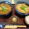讃岐屋 雅次郎 - 料理写真:カニみそつけめん+ちょい飯