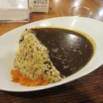 麺家 西陣 - ダムカレーチャーハン