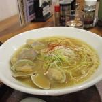 麺家 西陣 - あさりラーメン
