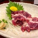 熊本Dining Kitchen 馬刺し 居酒屋 - 馬刺し 1,500円