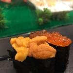 すしざんまい - にぎり寿司・いくら[1個]321円  にぎり寿司・うに[1個]537円