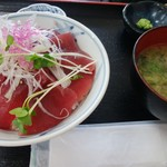 みなと市場 小松鮪専門店 - 「赤身丼」