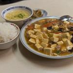 万里長城 - 麻婆豆腐定食