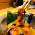 肉酒場 肉僧 - 黄身ちゃんをからめてー❤︎