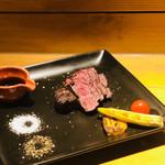 肉酒場 肉僧 - ダチョウのももグリル¥1380