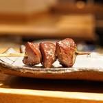 焼鳥 かさ原 - 料理写真:☆砂ズリ