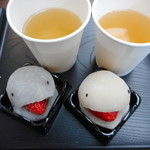 江戸うさぎ - 料理写真:こしあん&ミルクあん