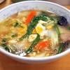 ぎょうざの満洲 - 料理写真:ニラ玉ラーメン¥550