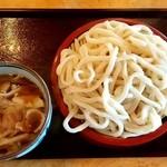 ゆでたて家 - 料理写真:ゆでたて家@野田 肉汁うどん・大盛(780円+100円)