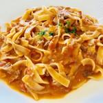 80047055 - シェフおすすめのトマト味タリオリーニ【料理】