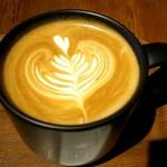 ネイバーフッドアンドコーヒー - ホームメイド バニラ ラテ♪