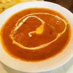 ミヤギディレストラン - チキンバターカレーのアップ