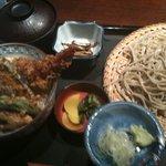 8005914 - 姫天丼ともりそばのセット