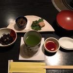 鳥茶屋 - 小鉢と前菜