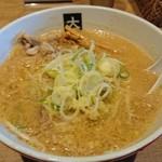 80050729 - 味噌ラーメン(¥800)中麺ちぢれ 濃口味噌