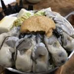 80050921 - 牡蠣味噌鍋¥1200