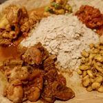 ネパール民族料理 アーガン - ネワリボジセット 1680円