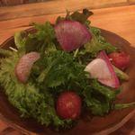 80052626 - サラダ。野菜が美味しい!