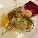ピッツェリア・サバティーニ - 魚介と季節野菜のマリナート(明らかに見た目からして違う!)