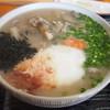 八川そば - 料理写真:山菜そば(蕎麦湯)