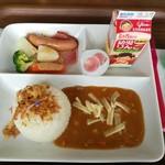 レイク サイド カフェ - 甘口カレーのお子様ランチ